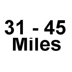 31 - 45 Miles Delivery