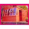 6 x 6 potting shed